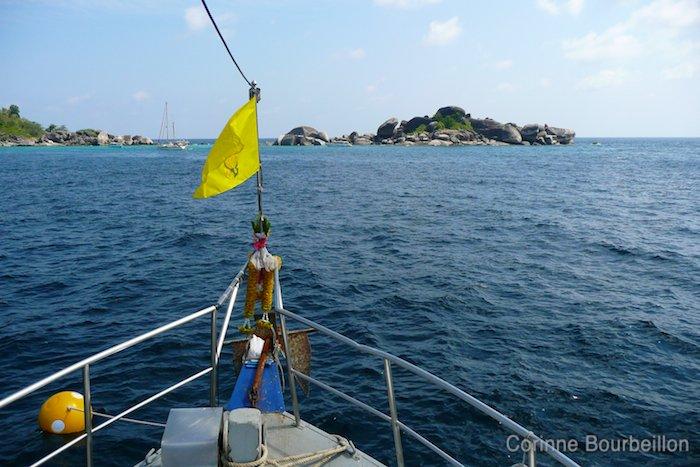 Croisière-plongée Similan. Sea of Fantasy. Février 2011, Thaïlande.