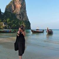 Krabi, Railay Beach. Thaïlande, janvier 2011. © Marie Toumit
