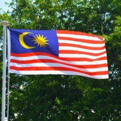 Le drapeau malaisien. (Photo : Pxhere / CC0)