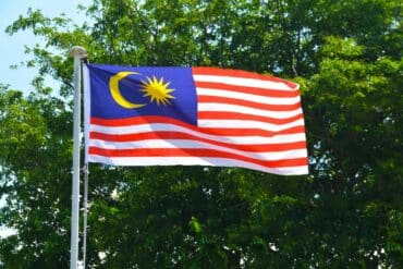 The Malaysian flag. (Photo: Pxhere / CC0)