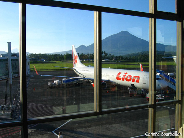 Manado Airport. North Sulawesi, Indonesia. July 2007.
