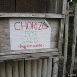 Filipino chorizo.