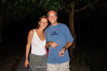 Maz and Alex make a humanitarian trip to the Care organization. (Tioman, Malaysia, July 2006)