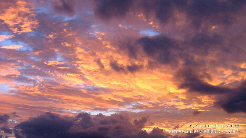 Bons baisers des nuages...