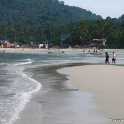 Long Beach, in Perhentian Kecil. (Malaysia, July 2006)