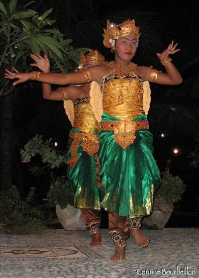 La danse des tortues des Reef Seen Dancers. Pemuteran, Bali. Juillet 2008.