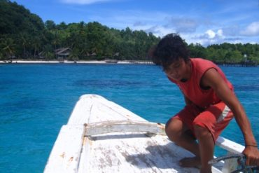 Retour à Island Retreat. (Togian Islands, Sulawesi, Indonésie, juillet 2008.)