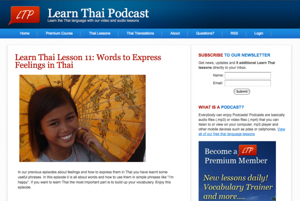 Learn Thai Podcast