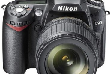 Nikon D90. The first digital SLR camera that also makes video.
