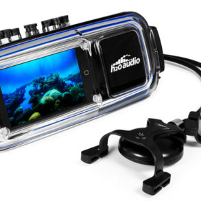 iDive 300 : un vrai caisson étanche pour écouter son iPod Touch en plongée. © www.h2oaudio.com