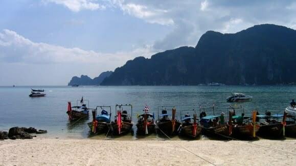 Koh Phi Phi, Thaïlande.