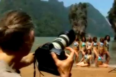 Miss France 2009 at James Bond Island.