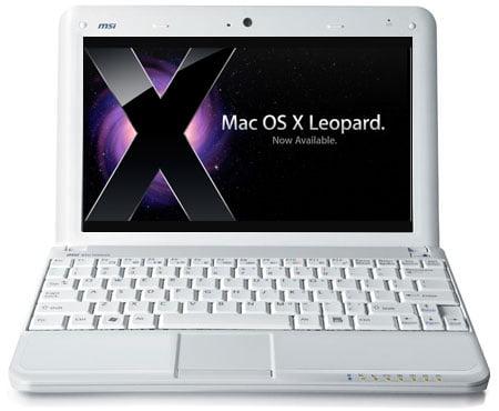 Installer Leopard, l'OS d'Apple sur un netbook? Certains l'ont fait. (Source: MacWorld)