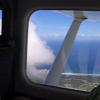 Avionnette en République dominicaine. Janvier 2009.