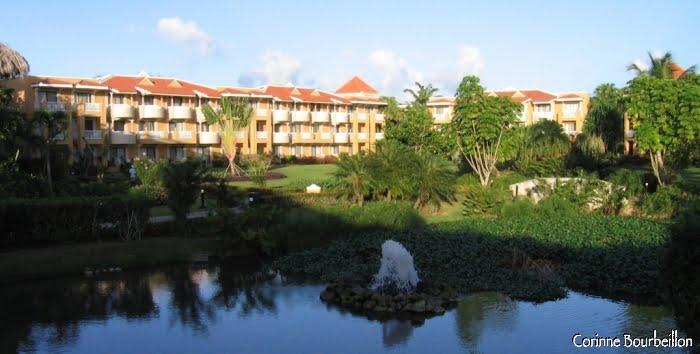 Grand hôtel 4 étoiles, à Bayahibe. (République Dominicaine, janvier 2009)