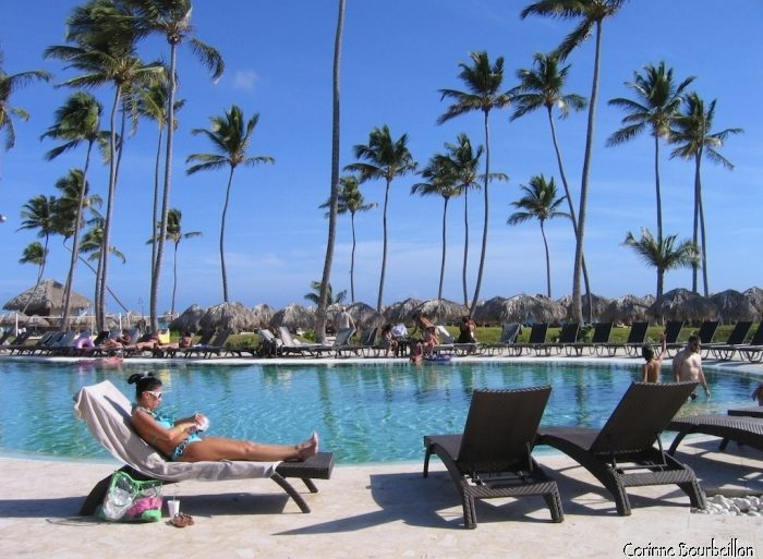 Grand hôtel 5 étoiles à Punta Cana. (République Dominicaine, janvier 2009)