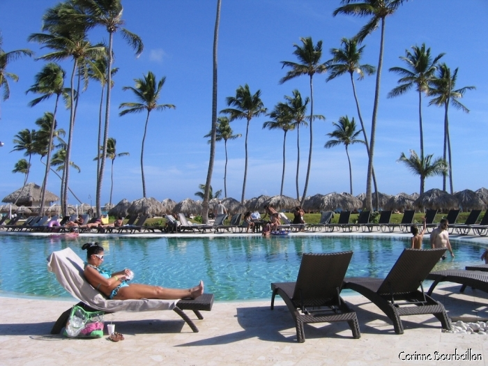 Large 5-star hotel in Punta Cana. (Dominican Republic, January 2009)