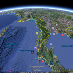 I want to dive in the Andaman Sea with Google Earth! But I can not...