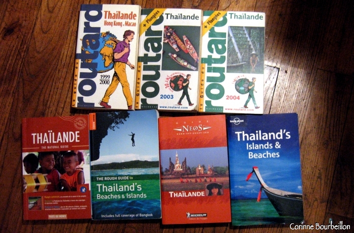 My travel guides about Thailand.