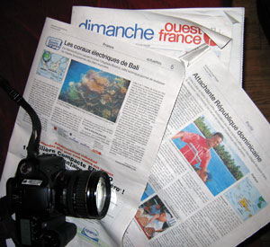 Sunday West-France, February 15, 2009