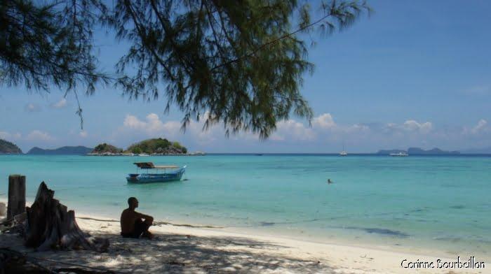 "Sunrise Beach, ""ma"" plage à Koh Lipe. (Thaïlande, mars 2009.)"