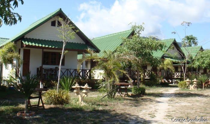 Varin Resort, Pattaya Beach. Koh Lipe, Thaïlande. Mars 2009.