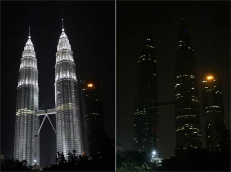 Petronas Towers. Photo: Lai Seng Sin / AP. Source: Freep.com.
