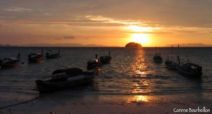 Sunrise on Sunrise Beach. Koh Lipe, Thailand. March 2009.