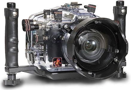 Le Nikon D90 et le caisson qui va bien...