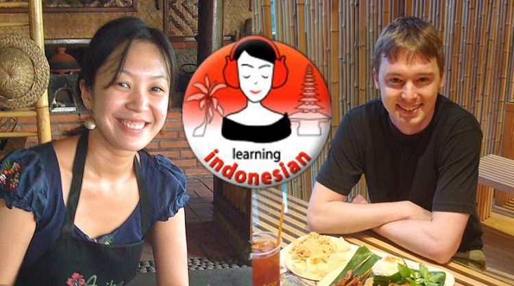 Learning Indonesian, par Cici et Shaun.