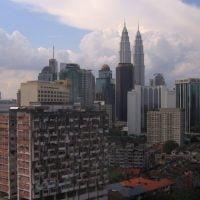 The Twin Towers of Kuala Lumpur (Malaysia).