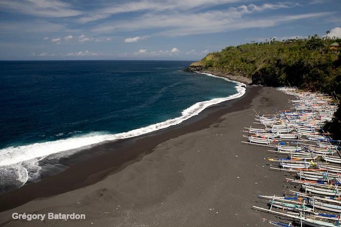 Pantai Songean. Bali, Indonésie.