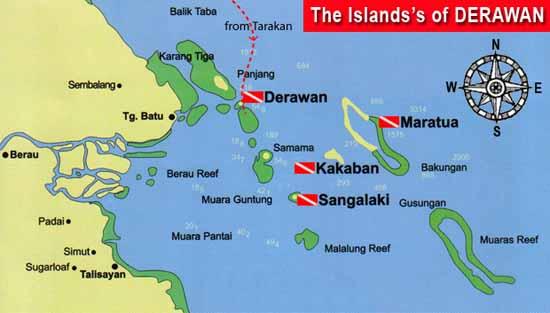 The archipelago of Derawan. Source: Lombokmarine.com