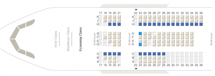 On the websites of some airlines, you can choose your seat on the plane at the time of booking, or check-in online.