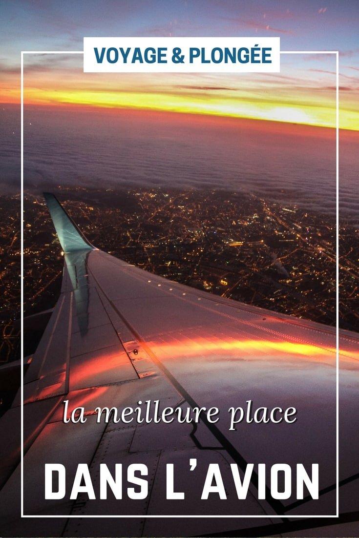 Voyage : comment choisir son siège dans l'avion ?