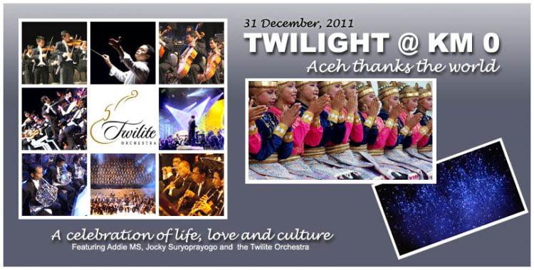 Twilight @ Km0 : rendez-vous à Pulau Weh, le 31 décembre !