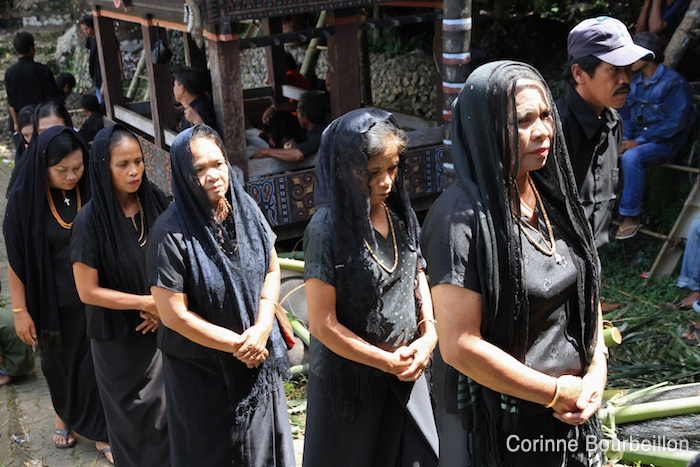 Funeral ceremony in Bori. Toraja Country, Sulawesi, July 2010.