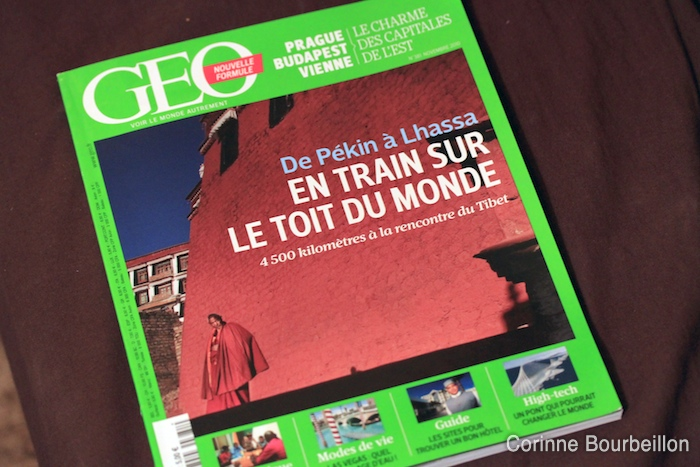 The magazine Géo of November 2010.