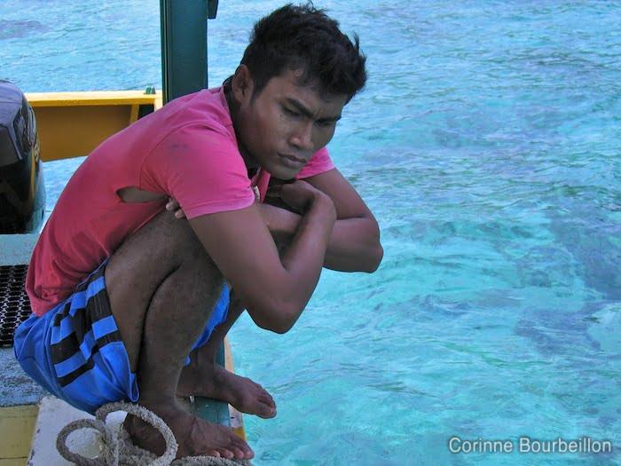 Bangka Island, Sulawesi, Indonésie. Juillet 2010.