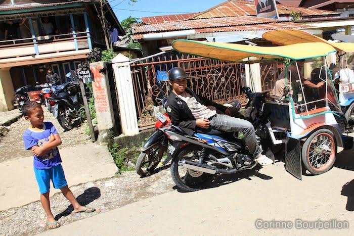 Rantepao. Sulawesi, Indonésie.