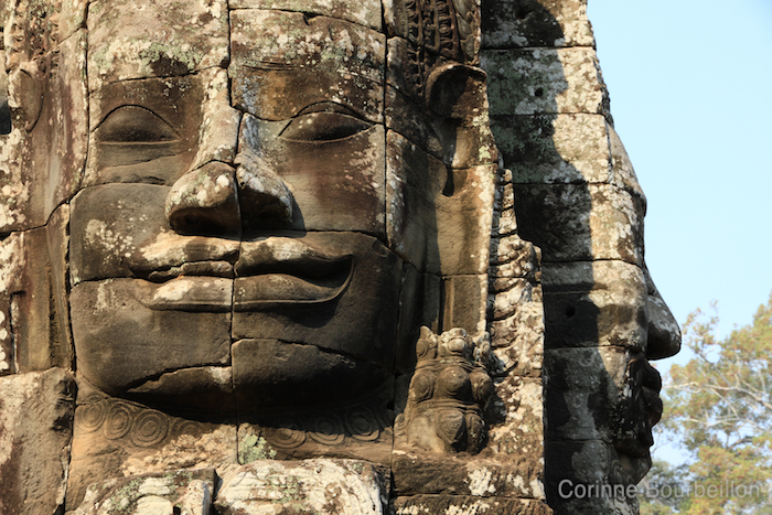 The faces of Bayon. Cambodia, February 2011.