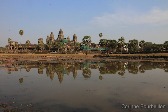 General view of Angkor Wat. Siem Reap, Cambodia, February 2011.