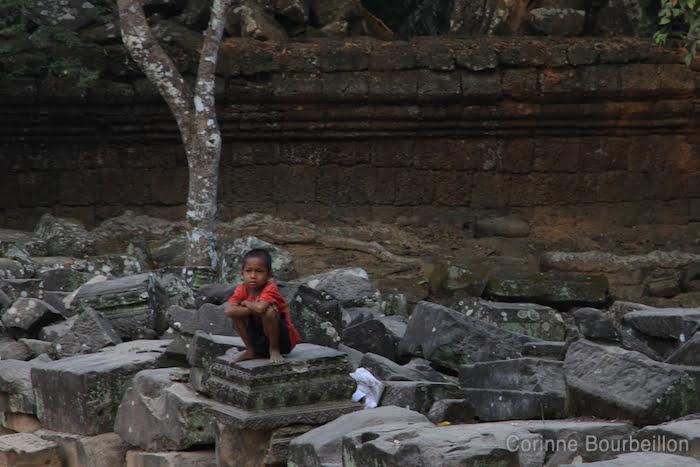 Ta Prohm. Angkor, Siem Reap, Cambodge. Février 2011.