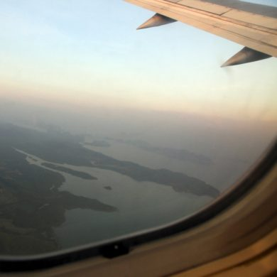 Fear by plane.