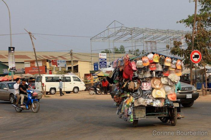 Siem Reap. Cambodge, février 2011.