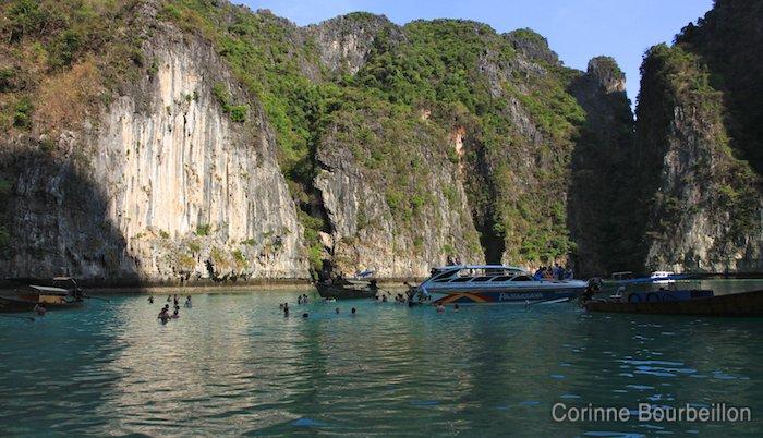Phi Phi Leh. Thaïlande, février 2011.