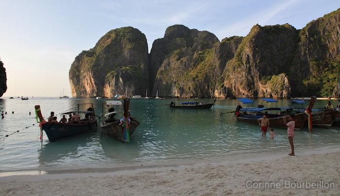 Maya Beach, Koh Phi Phi Leh. Thaïlande, février 2011.