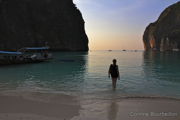 Maya Beach, Koh Phi Phi Leh. Thailand, February 2011.