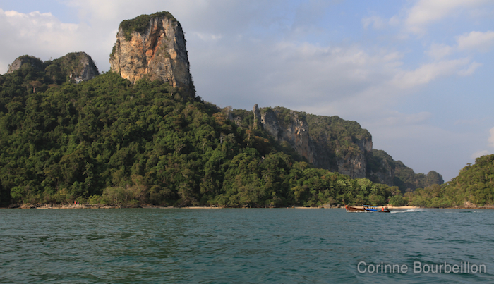 The cliffs of Krabi. Thailand, February 2011.