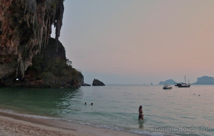 Phra Nang Beach. Krabi, Thailand, February 2011.